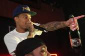 Bow Wow performs at Rain Nightclub.