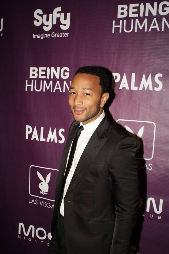 Haute Event: John Legend Rings in the New Year with Chrissy Tiegen at Moon Nightclub