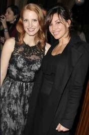 Jessica Chastain and Gina Gershon