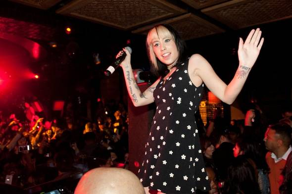 Kreayshawn performs at LAVO