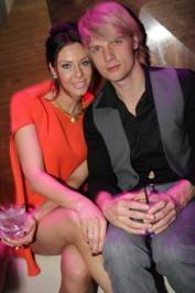 Lauren Kitt and Nick Carter.