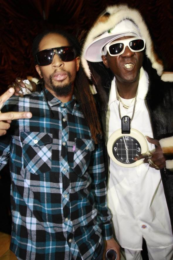 Haute Event: Flavor Flav Parties at Surrender with Lil Jon