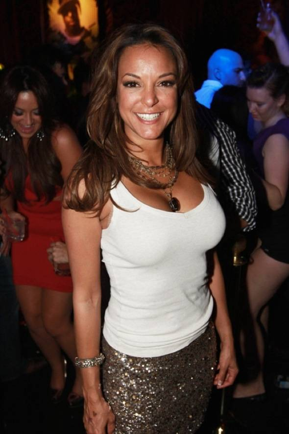 Haute Event: Eva LaRue Celebrates Her Birthday at Surrender Nightclub