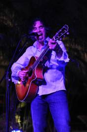 John Oates performs