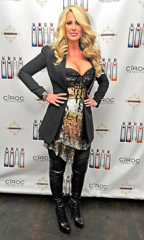 Kim Zolciak Hosts CîROC New Years Eve Party At Beauty & Essex