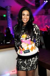 Jordan Sparks celebrates her birthday at RPM Nightclub at the Tropicana.