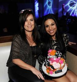 Jodi Sparks and Jordin Sparks celebrate Jordin's birthday at the Tropicana.