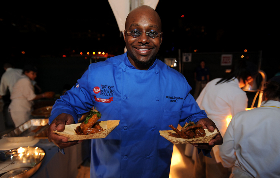 Happy New Year From Dwayne Wade's Personal Chef Richard Ingraham