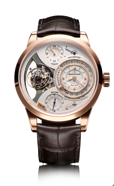 HAUTE TIME REVIEW: THE JAEGER LE COULTRE DUOMÉTRE A SPHÉROTOURBILLON