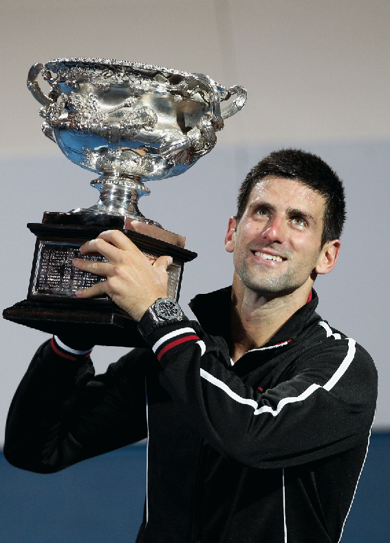 Haute Time: Audemars Piguet Brand Ambassador Novak Djokovic Wins Third Grand Slam