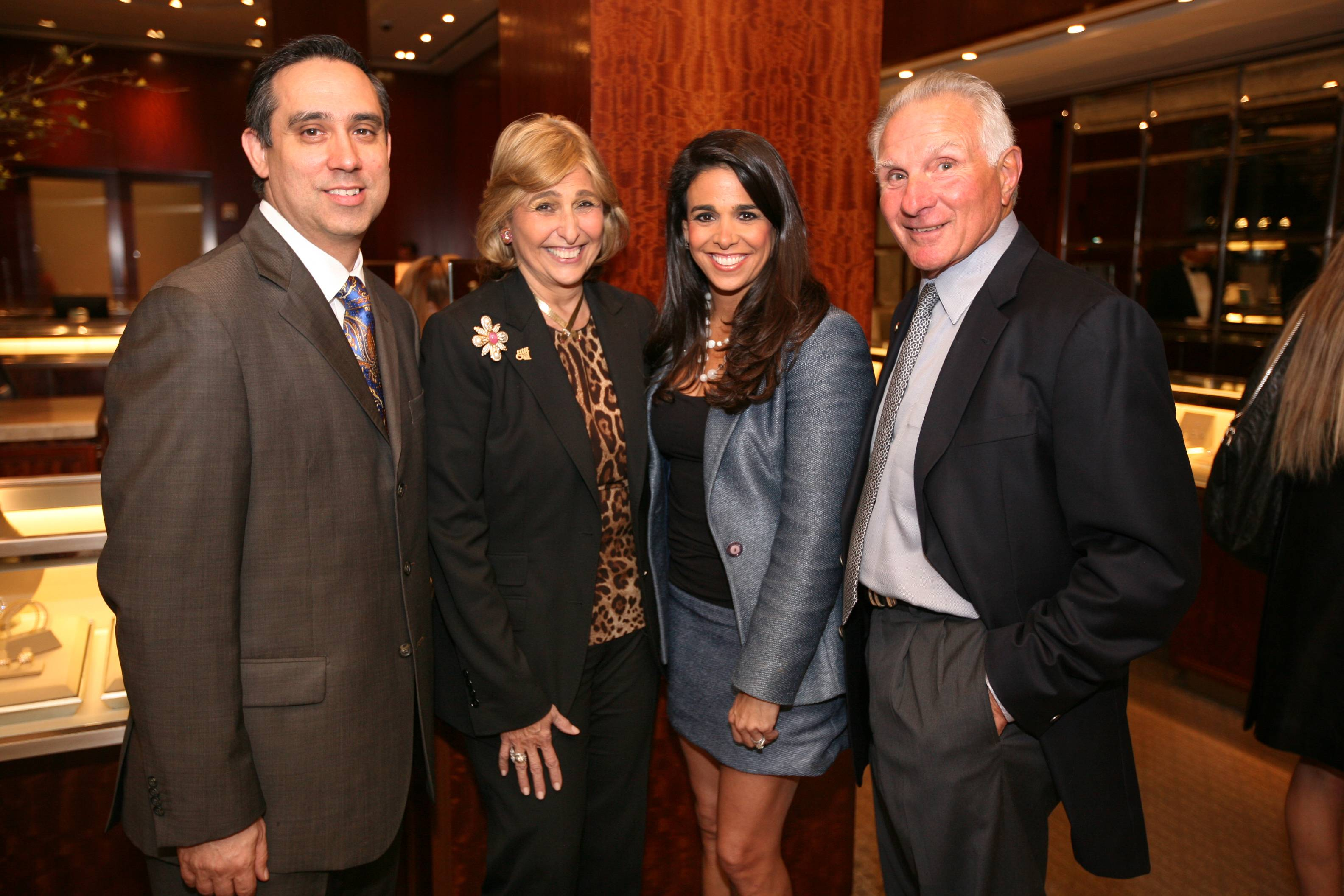 Tiffany & Co. Group Director Henry Gonzalez, Suzie Sayfie,Stephanie Sayfie-Aagaard, & Nick Buoniconti1