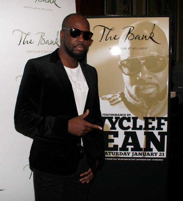 Haute Event: Wyclef Jean Performs at The Bank