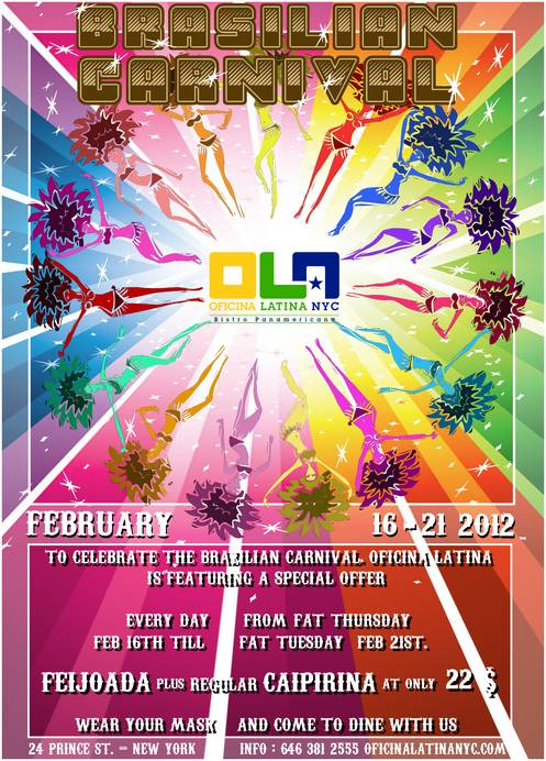 Oficina Latina Celebrating the Brazilian Carnival in New York