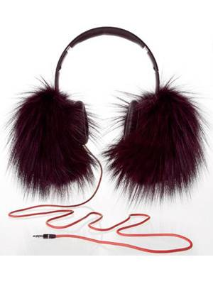 Oscar de la Renta and Dr. Dre Collaborate on Furry Headphones