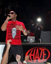 Ludacris performs at Haze Nightclub.