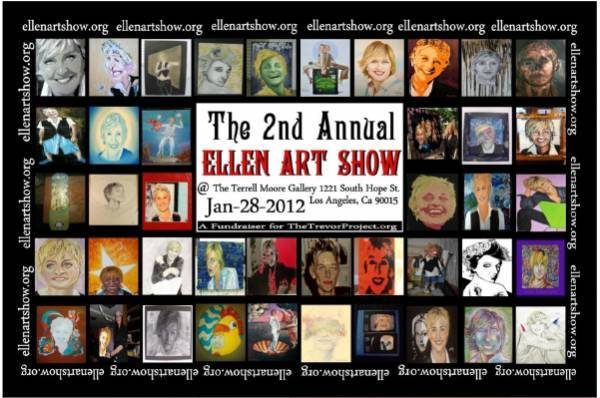 The 2nd Annual Ellen Art Show in LA