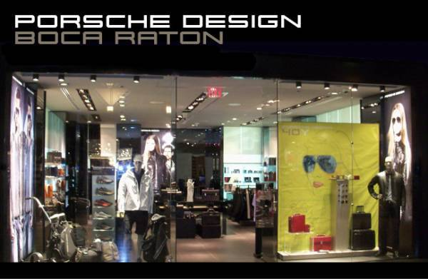 New Porsche Design Store Opening in Boca Raton