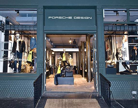 Porsche Design Opens Flagship in SoHo