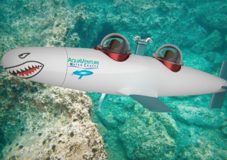 Haute Toys: Luxury Personal Submarine for $290,000