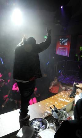 Recording artist Sean Kingston performs at the RPM Nightclub.