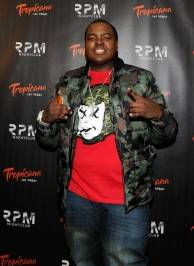 Recording artist Sean Kingston arrives to celebrate his birthday at the RPM Nightclub.