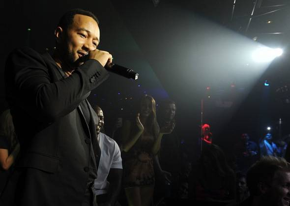 Haute Event: John Legend and T-Pain Perform at 1 OAK for Light Up Las Vegas