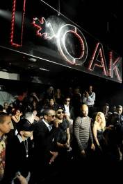 Richie Akiva, Diddy, Lenny Kravitz and Common attend the I Love NY Party at 1 OAK.