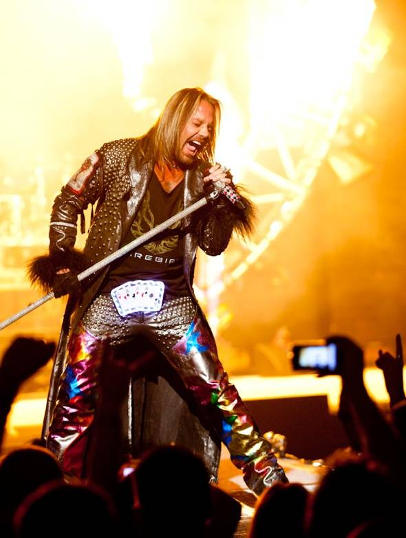 Haute Event: Mötley Crüe Debuts its Residency at the Joint at the Hard Rock