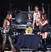 Motley Crue celebrates Vince Neil Birthday at The Joint at Hard Rock Hotel.
