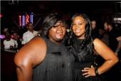 Amber Riley and Gabourey Sidibe at Tabu Ulta Lounge.