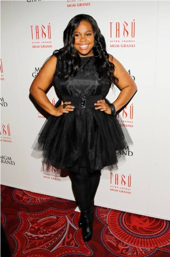 Haute Event: Amber Riley Celebrates Her 26th Birthday at Tabu