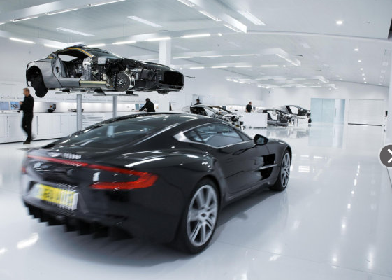 Haute Auto: Last Factory Built Aston Martin One-77 for Sale