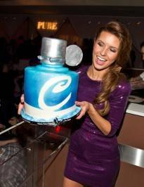 Audrina Patridge at Pure.