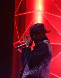 Big Sean performs at the Pearl at the Palms.