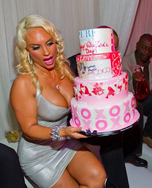 Coco_PURE VDay Cake
