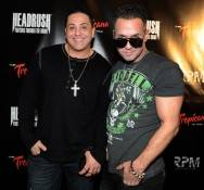 "DJ Skribble and Mike ""The Situation"" Sorrentino"