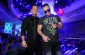 "Marc Sorrentino, left, and his brother televison personality Mike ""The Situation"" Sorrentino appear at the RPM Nightclub."
