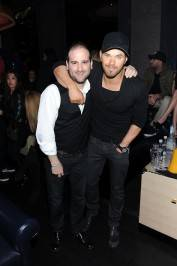 Kellan Lutz and Danny Guez