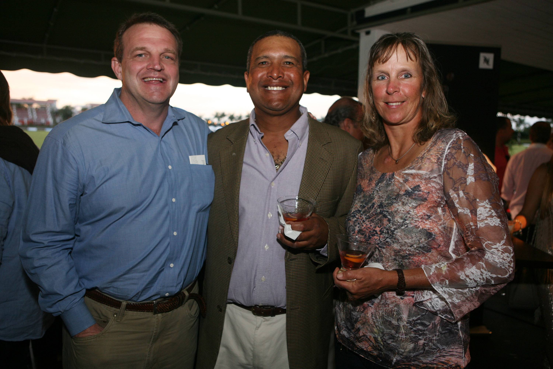 Doug Moore, Eddy Martinez, & Linda Martinez