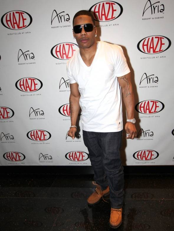 Haute Event: Nelly Performs at Haze Nightclub