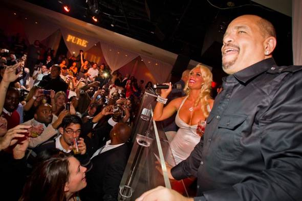 Ice T and Coco_PURE Crowd