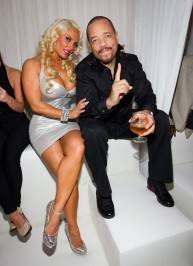 Ice T and Coco_PURE VIP Booth