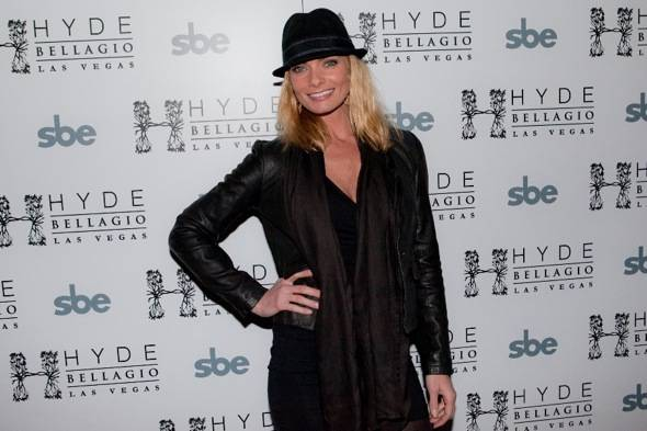 Jaimie Pressly at Hyde Bellagio for Wilmer Valderrama's 32nd Birthday