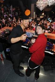 Kellan Lutz and DJ Casanova