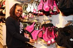 Laila Ali Shows off the New Marika Sports Bras at Lane Bryant