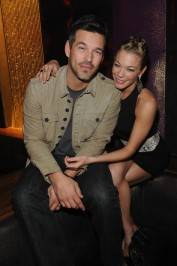 Eddie Cibrian and LeAnn Rimes at Marquee