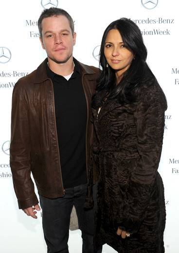 Matt Damon And Other Celebs Hang Out In The Mercedes-Benz Star Lounge On Valentine's Day