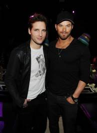 Peter Facinelli and Kellen Lutz