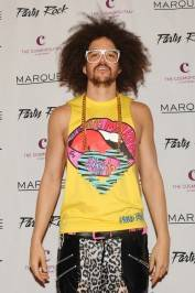 Redfoo of LMFAO on the red carpet.