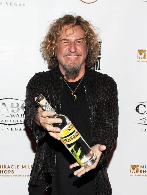 Haute Event: Sammy Hagar Launches Sammy's Beach Bar Rum at Cabo Wabo Cantina